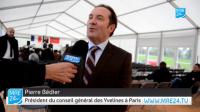 Pierre Bédier président du conseil général des Yvelines à Paris sur MRE24
