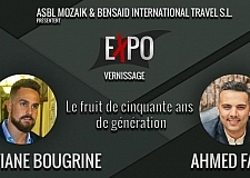 معرض تشكيلي ببلجيكا حول الهجرة يجمع المغربي سفيان بوكرين والمصري أحمد فريد