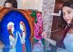 """وصال بوصوف فنانة تشكيلية ريفية تمثل المغرب في """"مهرجان شمس"""" البلغاري"""
