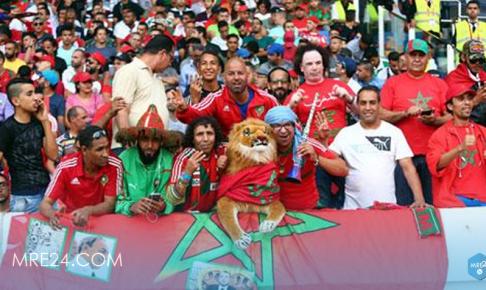الجمهور المغربي يشعل ملعب لوجنيكي بالحماس قبل مباراة البرتغال