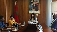 بعثة كونغولية في زيارة لمجلس الجالية المغربية بالخارج