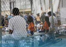 بريطانيا تنتقد صور أطفال المهاجرين المحتجزين داخل أقفاص في الولايات المتحدة