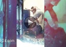 فيديو لأب يعذب أطفاله بطريقة وحشية