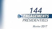 ما هي التزامات مارين لوبين « الرئاسية » في موضوع الهجرة؟