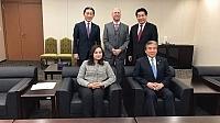 شابة مغربية تقود الدبلوماسية البرلمانية مع 'إمبراطورية اليابان' وتُستقبٓلُ من مسؤولين كبار بطوكيو