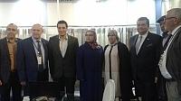سفيرتركيا ونائبة عمدة الدارالبيضاء حكيمة فصلي يفتتحان الدورة الثالثة للمعرض الدولي للنسيج