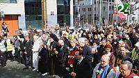 marche contre la terreur et la haine a bruxelles